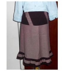 Bordo-roze suknja; SALE - 54%!