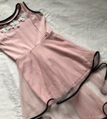 Bebi roza svečana haljina za devojčice