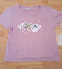 Pull&Bear baby roze majica