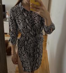 Kosulja/haljina sa zmijskim printom