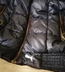 Puma crna jakna/prsluk M