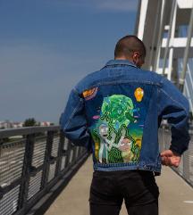 Ručno oslikana Rick&Morty Levi's jakna
