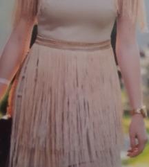 Unikatna i svečana haljina sa resama