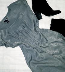 RASPRODAJA H&M svetlucava haljina S/M