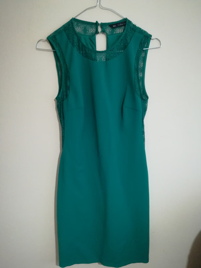 Zara smaragdno zelena haljina