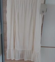 Zara NOVO etiketa haljina viskoza