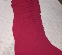 Italijanska uska pripijena haljina vel. S pink