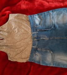 Teksas suknja i majica