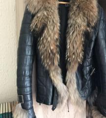 Kozna jaknasa krznom