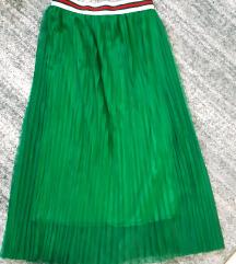 Savrsena suknja Italy UNI Plisirana