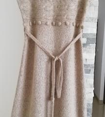 Orsay pletena haljina S