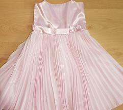 Saten haljina za devojcice NOVO