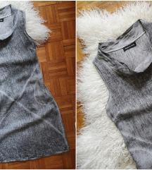 MADE in ITALY prijatna haljina pamuk/lan NOVO