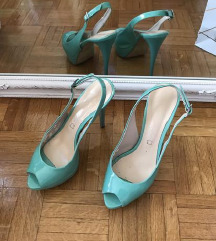 SANTE lakovane kozne cipele