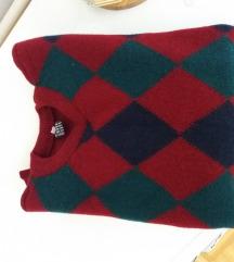 Vuneni karo dečiji džemper