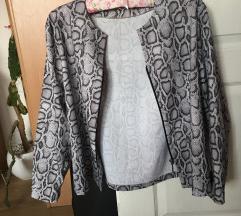 Snake Print jakna