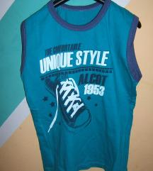 Pamučna tirkizna majica vel 140 odlična