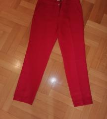 Crvene koton pantalone