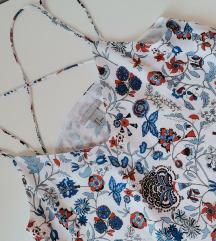 H&M Svilena majica na bretele