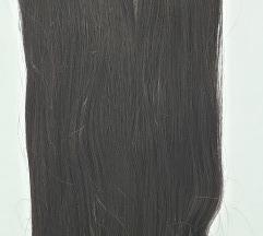 Poluprirodna kanekalon kosa - Tamno braon
