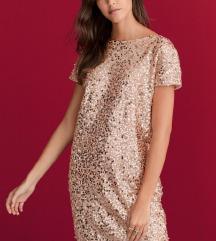 NEXT sequin haljina vel L NOVO
