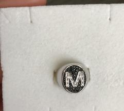 Srebrni prsten M