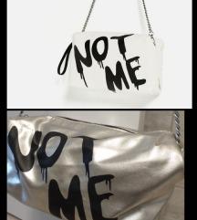 Like Zara Graffitti silver bag
