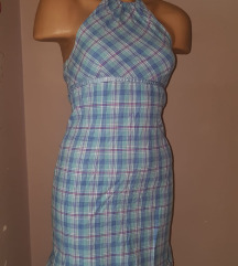 Karirana haljina vel XS/S