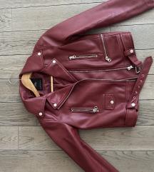 Zara kožna jakna nenošena