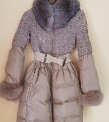 Perjana jakna prirodno krzno