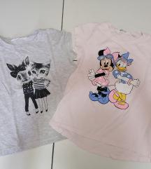 Majice 2 za devojcice