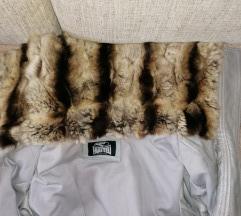 Fratelli kožna jakna sa prirodnim krznom