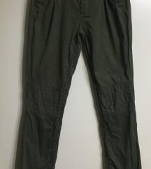 Vero moda maslinaste pantalone