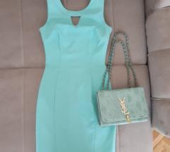 Mint zelena haljina