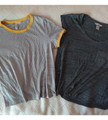 Dve H&M majice S / M