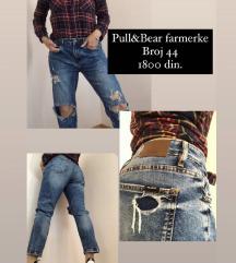 SNIZENO! Pull & Bear teksas farmerke vel44