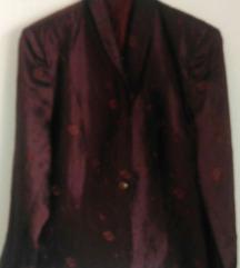 Unikatna vintage strukirana jaknica