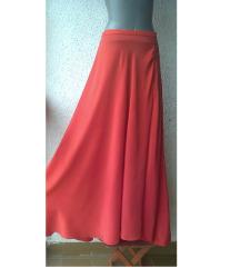suknja crvena duga svila br S IVA STEFANOVIC