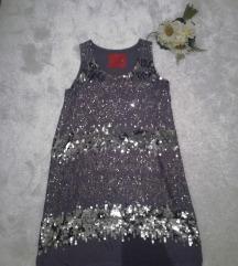 ♫ ♪ ♫ SAND RED CARPET svecana svilena haljina NOVO