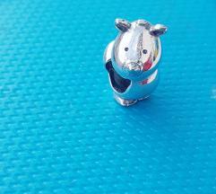 PANDORA nosorog S925