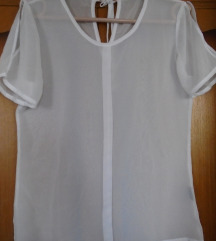 Predivna providna košulja bele boje