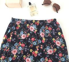 Moderna cvetna suknja