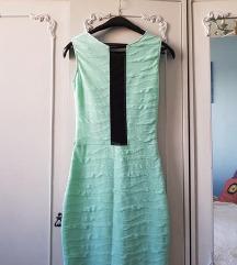 NOVO! Blondy mint haljina sa providnim detaljem