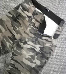 REZ Military duboke pantalone
