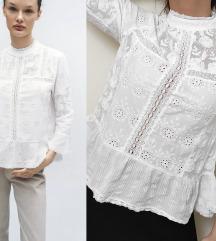 ZARA New Collection izvezena bluzica NOVO