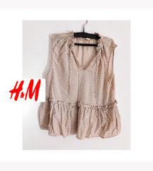 ••H&M•• majica kosulja sa karnerima M/L 42 vel