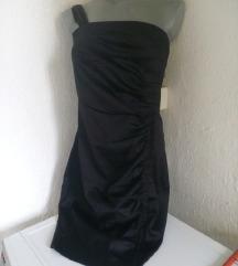 Xanaka crna haljina na jedno rame M