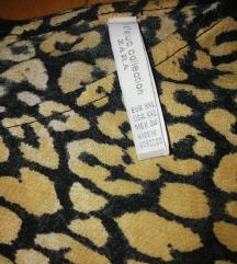 Zara bluza bagy animal print