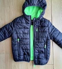 Terranova crna decija jakna za 4-5 godina