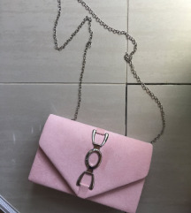 Torbica za rame puder roze 500din